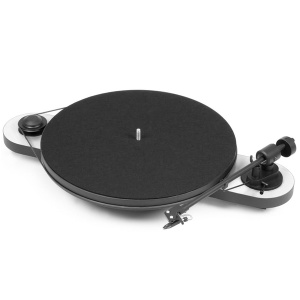 Виниловый проигрыватель Pro-Ject Elemental Phono USB White/Black (OM-5e)