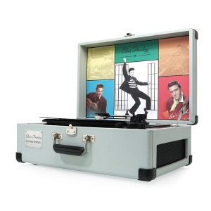 Виниловый проигрыватель Ricatech EP1950 Elvis Presley Limited Edition Grey