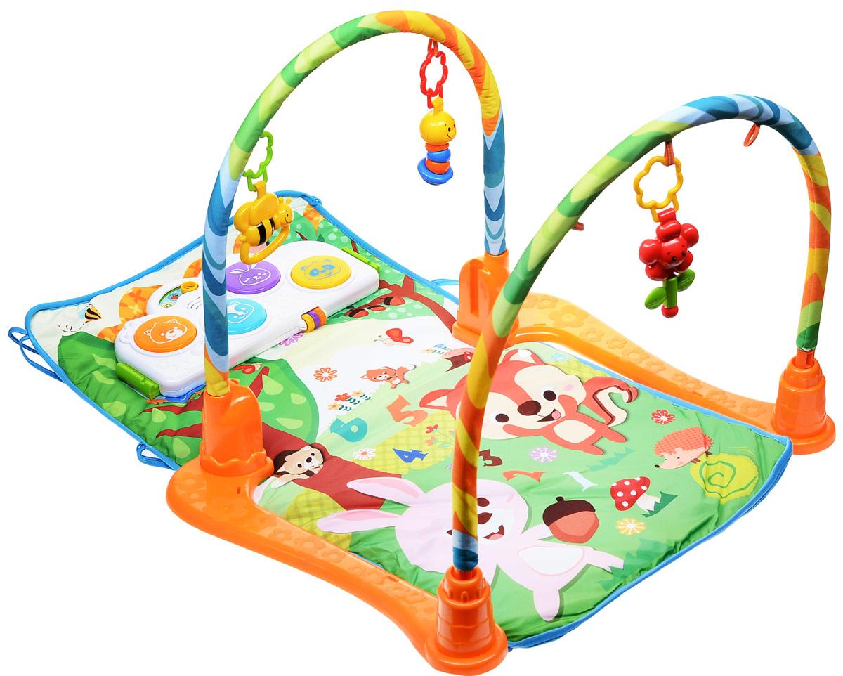 Игровой коврик для новорожденных