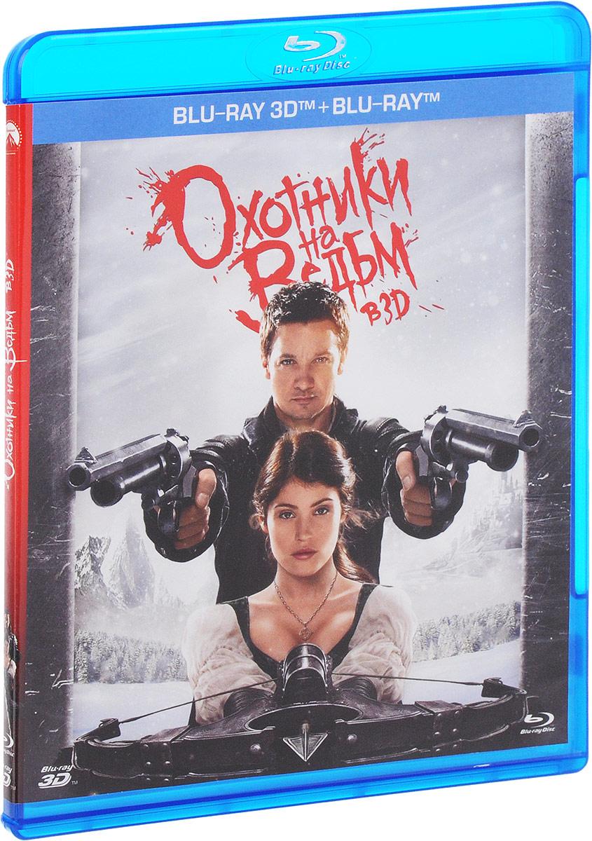 Фото Охотники на ведьм 3D и 2D (2 Blu-ray). Купить  в РФ