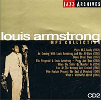 Вероятно, трудно найти на свете человека, которому было бы не знакомо это имя. Музыка Луи Армстронга продолжает жить и сегодня. Такой феноменальной популярности не имел ни один джазовый музыкант. Манера его игры на трубе и вокальные пассажи стали культовыми для джазовых музыкантов и вокалистов во всем мире. Однако Луи Армстронг не только виртуоз-трубач и выдающийся джазовый певец - он прежде всего творец, причем самый плодовитый в истории джаза. Он создает мелодию и, развивая ее, строит соло с такой безупречной логикой, что складывается впечатление, будто это не импровизация, а глубоко продуманная, заранее сочиненная музыка. Его можно слушать бесконечно. По достоинству оценить все созданное Армстронгом может лишь тот, кто досконально знает его старые записи. В нашей коллекции представлены 15 пластинок великого Сатчмо, записанные с 1923-го по 1968 год, включая исторические диски с составом