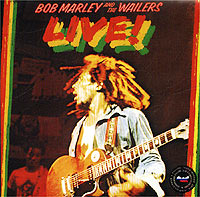 Боб Марли Bob Marley And The Wailers. Live! the jam music adjustable mount clip