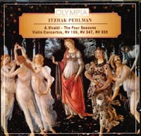 Itzhak Perlman. A.Vivaldi. The Four Seasons. Violin Concertos.