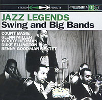 Дюк Эллингтон,Каунт Бэйси,Гленн Миллер,Вуди Херман Jazz Legends. Swing and Big Bands каунт бэйси count basie april in paris lp