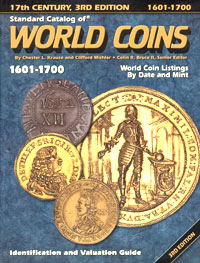Standard Catalog of World Coins: 1601 - 1700 / Стандартный каталог монет мира. 1601 - 1700 catalog of ussr and russian coins 1918 2018