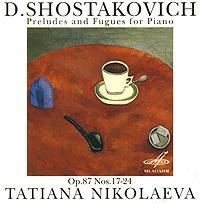 На диске представлена прелюдии и фуги для фортепиано №17-24 Д.Шостаковича в исполнении знаменитой российской пианистки Татьяны Николаевой.