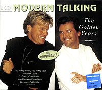 Modern Talking Modern Talking. The Golden Years (3 CD) cd modern talking ready for the mix
