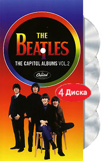 The Beatles. The Capitol Albums. Vol. 2 (4 CD)