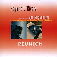 Альбом «Reunion» стал первым, когда Пакито Д'Ривера с момента его эмиграции в 1980 г. и трубач Артуро Сандовал, который и сам недавно покинул Кубу, впервые сделали запись вместе. К музыкантам присоединилась превосходная команда: пианист Данило Перес, акустический гитарист Фарид Хак, басист Дэвид Финк, барабанщик Марк Уолкер и Джованни Идальго на конге.Группа в основном записала оригинальные композиции плюс пару песен Чучо Вальдеса, «Body and Soul» и «Tanga» Диззи Гиллеспи. Этот альбом, выпущенный темнокожими кубинцами, получился очень захватывающим и горячим. Похоже, музыканты и сами были вдохновлены музыкой друг друга.