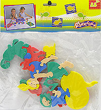 Репка. Мягкая мозаика игрушки для ванны флексика мозаика набор для ванны замок