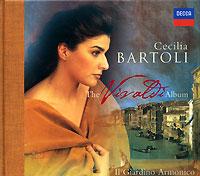 Чечилия Бартоли,Arnold Schoenberg Chorus,Il Giardino Armonico,Джованни Антонини Cecilia Bartoli. The Vivaldi Album чечилия бартоли cecilia bartoli sacrificium deluxe edition 2 cd dvd