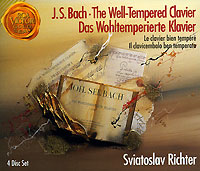 Святослав Рихтер J. S. Bach. The Well-Tempered Clavier. Sviatoslav Richter (4 CD) j c f bach j s bach wachet auf ruft uns die stimme