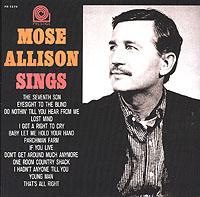 Представляем вашему вниманию сборник лучших песен Моуза Эллисона.