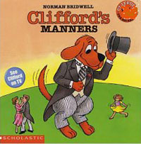 Clifford the Big Red Dog: Clifford's Manners french manners