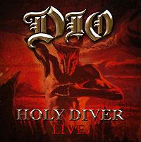 Dio Dio. Holy Diver. Live (2 CD) 2017 switzerland luxury relogio masculino binger brand quartz full stainless wristwatches chronograph diver clock b9011 2