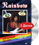 Rainbow: The Final Cut. Live Between The Eyes (2 DVD) григорий лепс парус live