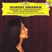 Shostakovich. Piano Concerto No. 1. Haydn. Piano Concerto No. 11. Martha Argerich лондонский симфонический оркестр клаудио аббадо марта аргерих martha argerich claudio abbado liszt piano concerto no 1