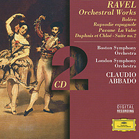 Клаудио Аббадо,Boston Symphony Orchestra,The London Symphony Orchestra Ravel: Orchestral Works. Claudio Abbado (2 CD) клаудио аббадо orchestra mozart claudio abbado schubert the great c major symphony 2 lp