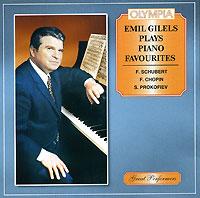 Эмиль Гилельс Emil Gilels Plays Piano Favourites эмиль гилельс эдвард григ лирические пьесы эмиль гилельс