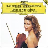 Анна-Софи Муттер,Андрэ Превен Jean Sibelius. Violin Concerto. Anna-Sophie Mutter