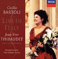 Чечилия Бартоли,Жан-Ив Тибоде Cecilia Bartoli. Live In Italy цены онлайн