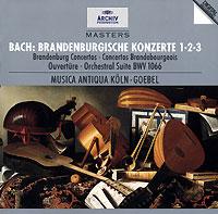Рейнхард Гебель Bach. Brandenburgische Konzerte 1-2-3. Musica Antiqua Koln - Goebel стоимость