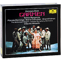 Клаудио Аббадо,The London Symphony Orchestra Claudio Abbado. Bizet. Carmen (3 CD) камины ewt bizet