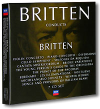 Benjamin Britten. Conducts Britten (7 CD) ноктюрн пифагора