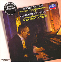 Rachmaninov. Piano Concertos 2 & 4. Vladimir Ashkenazy. Bernard Haitink