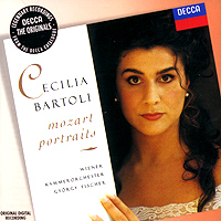 Чечилия Бартоли Cecilia Bartoli. Mozart Portraits чечилия бартоли cecilia bartoli sacrificium deluxe edition 2 cd dvd