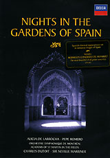 Nights In The Gardens Of Spain. Larrocha / Romero / Dutoit fun some nights