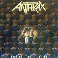 Anthrax Anthrax. Among The Living anthrax anthrax worship music 2 lp