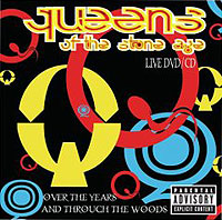 Queens Of The Stone Age. Over The Years And Through The Woods (2 CD) lace trim over the knee fishnet socks