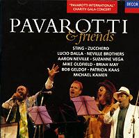 Pavarotti & Friends лучано паваротти pavarotti 101 pavarotti 6 cd