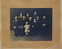Семья в Одессе (фотография)