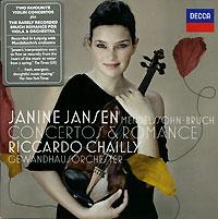Дженин Дженсен,Риккардо Шайи,Gewandhausorchester Leipzig Mendelssohn. Bruch. Concertos & Romance. Janine Jansen punch arogunz leipzig