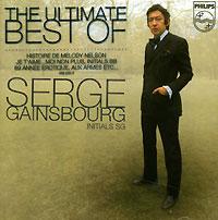 Serge Gainsbourg.  Initials S. G.  Mercury France
