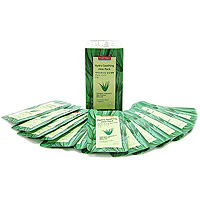 Набор успокаивающих масок Purederm. Алоэ, 10 мл x 5 набор освежающих масок purederm зеленый чай 10 мл x 5