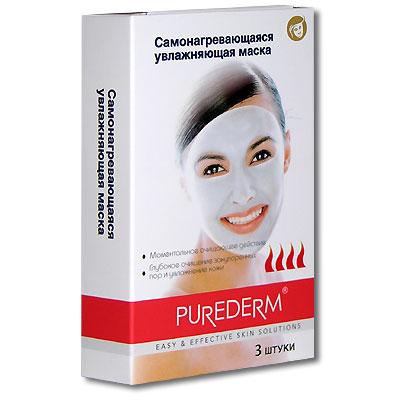 Самонагревающаяся увлажняющая маска