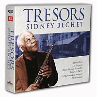 Sidney Bechet. Tresors Sidney Bechet (4 CD)