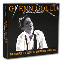 Glenn Gould. A State Of Wonder.The Complete Goldberg Variations 1955 & 1981 (3 CD)