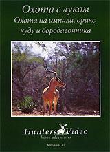 Охота с луком: Охота на импала, орикс, куду и бородавочника. Фильм 15 охота на овечкина