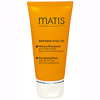 Оживляющая маска Matis, для улучшения цвета кожи, 50 мл36503Нежная маска с гелевой, шелковистой текстурой - идеальное решение, чтобы разбудить клетки кожи. Наполняет кожу энергией, придает ей жизненные силы, увлажняет. Кожа светится изнутри!Витаминный комплекс (A, C, E) - компенсирует дефицит витаминов в коже и усиливает сопротивляемость эпидермиса. Восстанавливает его физиологические механизмы. Мульти-минеральный коктейль (железо, медь, цинк), Комплекс CAPTOZONE (лимон и дымянка лекарственная, белый люпин, церамиды)Наносить на чистую кожу, избегая области вокруг глаз. Оставить на 10 минут, затем удалить. Применять 1- 2 раза в неделю, в соответствии с потребностью кожи.