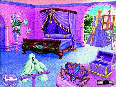 Barbie: Принцесса Рапунцель.  Приключения в стране творчества Mattel Interactive