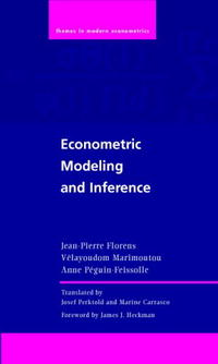 Econometric Modeling and Inference (Themes in Modern Econometrics) statistics and econometrics