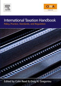 International Taxation Handbook: Policy, Practice, Standards, and Regulation handbook of the exhibition of napier relics and of books instruments and devices for facilitating calculation