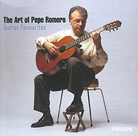 Pepe Romero. The Art Of Pepe Romero. Guitar Favourites (2 CD)