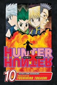 Hunter X Hunter, Volume 10 (Hunter X Hunter (Graphic Novels)) hunter x hunter volume 10 hunter x hunter graphic novels