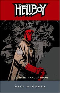Hellboy, Vol. 4: The Right Hand of Doom hellboy the art of hellboy
