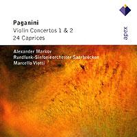 Alexander Markov. Paganini. Violin Concertos 1 & 2 / 24 Caprices (2 CD) spectral classics pl151 bg 2 boxes